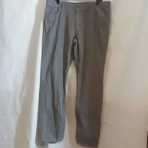 14th & Union Mens Gray Corduroy Jeans Pants